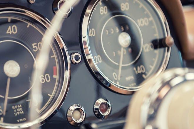 Speedometers in car
