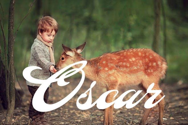 13. Oscar