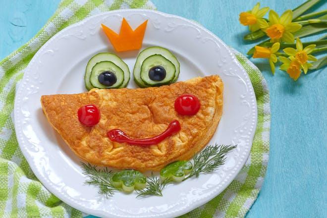 8. Easy omelettes