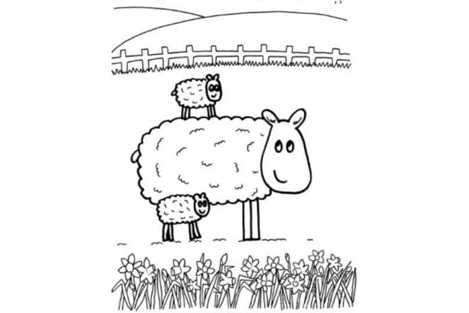 2. Spring lambs