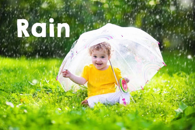 Rain baby name