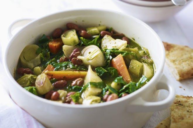 16. Spring vegetable casserole