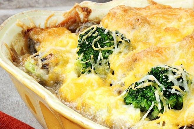 Broccoli cheese