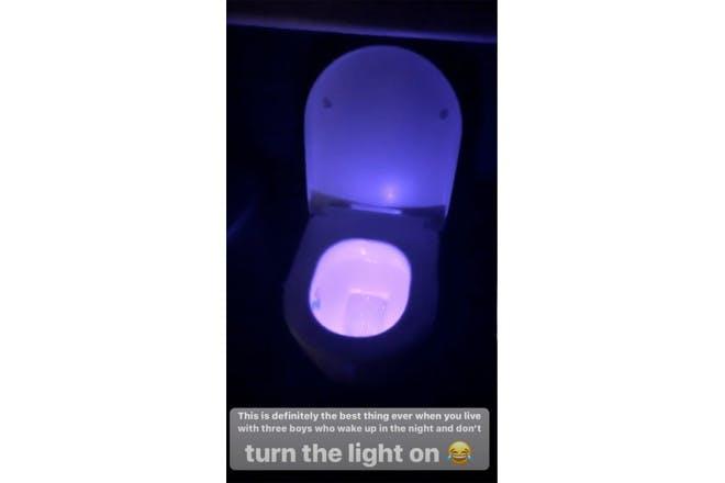 Stacey Solomon toilet