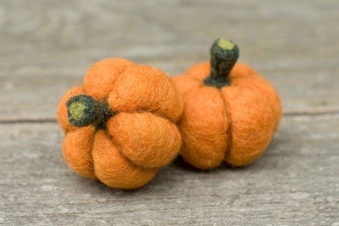 Wool pumpkins