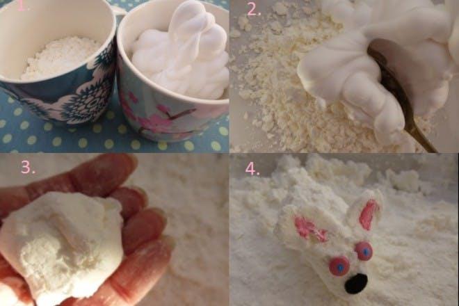 how to make cloud dough