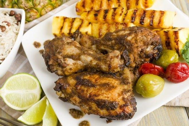19. Jerk chicken