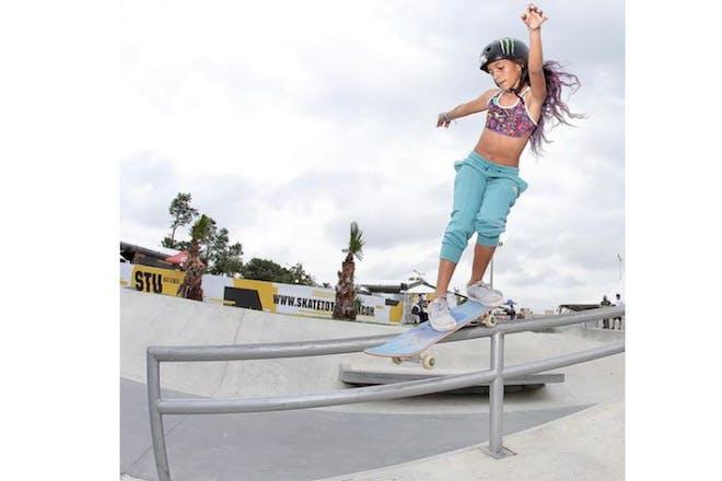 Skateboarder Rayssa Leal