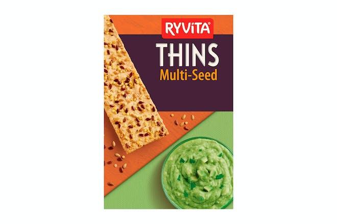 Ryvita Thins Multiseed Flatbreads