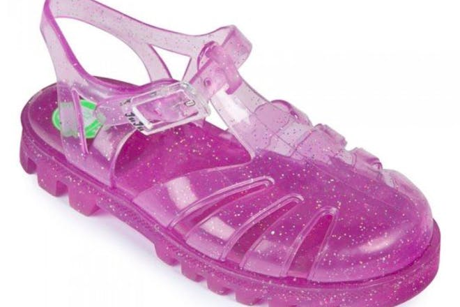 25. Putting on your jelly shoes before going in the garden