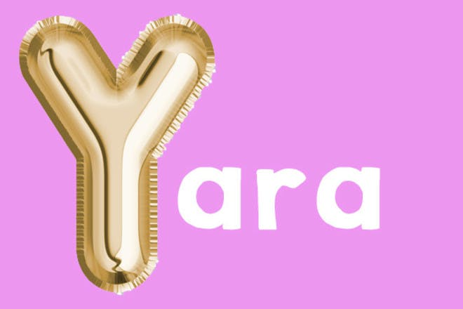 Yara 'y' name