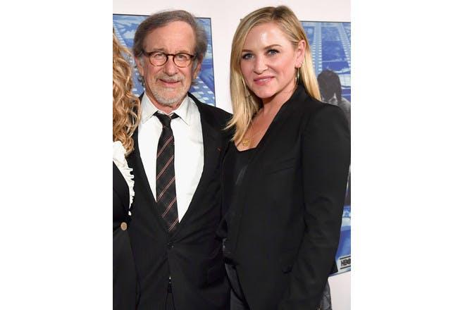 16. Jessica Capshaw and Steven Spielberg
