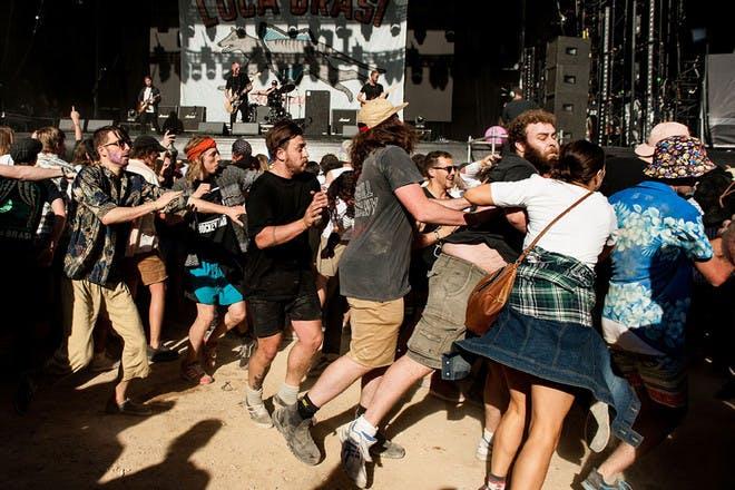 3. Slamdanced in mosh pits