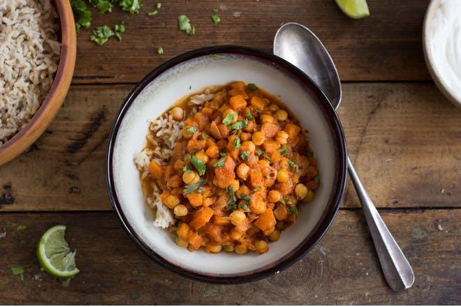 7. Pumpkin curry