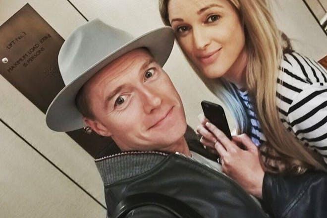 Ronan Keating and partner