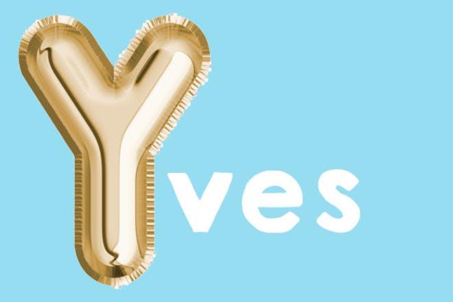 Yves 'y' names