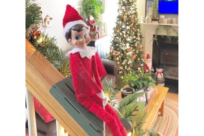 93. Sledging Elf