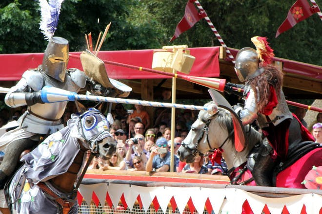 10. Join the jousting at Arundel Castle, West Sussex