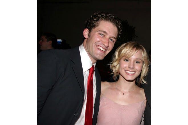 Kristen Bell and Matthew Morrisson