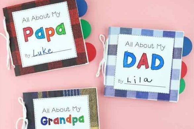All about my dad book