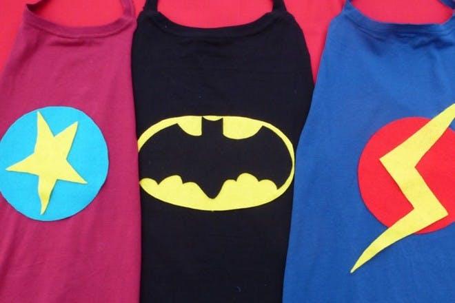28. Make a superhero cape