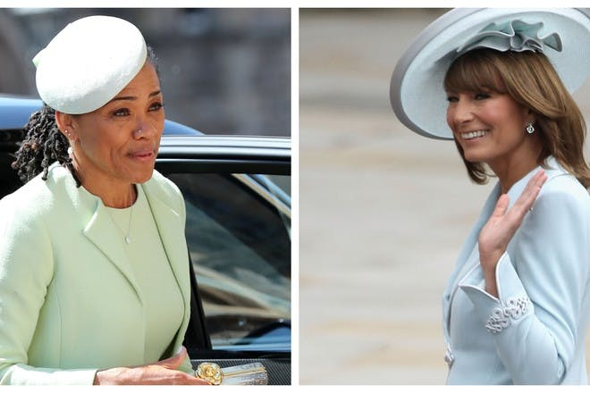 15 things Carole Middleton and Doria Ragland have in common