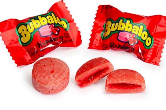 Bubbaloo bubble gum retro sweets