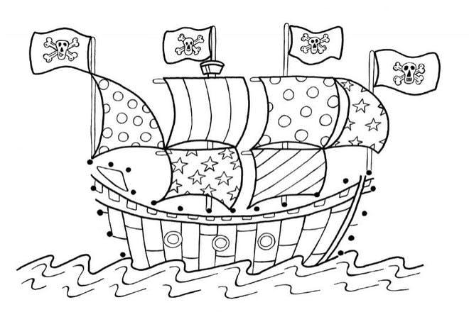 ship on sea