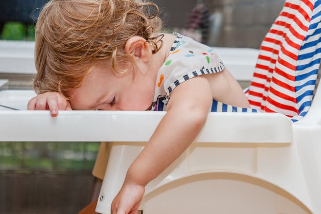 12. Don't try weaning when your baby is hungry …