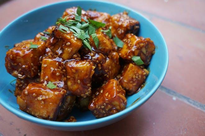 28. Smoked BBQ tofu bowls