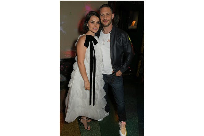 4. Tom Hardy and Charlotte Riley
