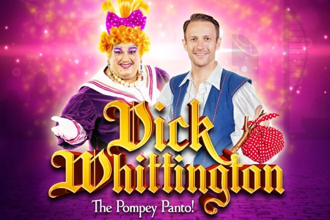 Dick Whittington at the King's Theatre, Portsmouth