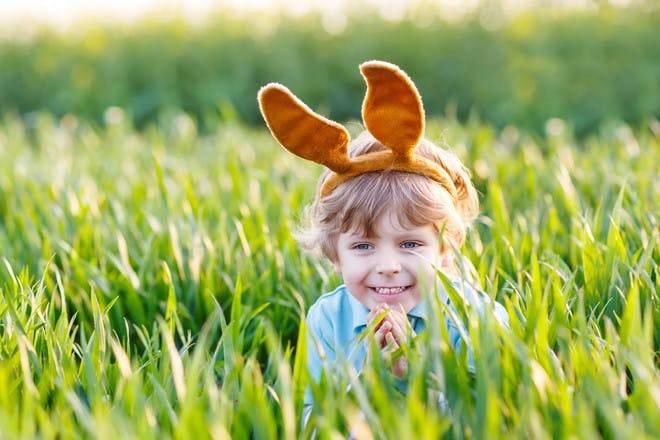 Easter bonnets and hats for boys