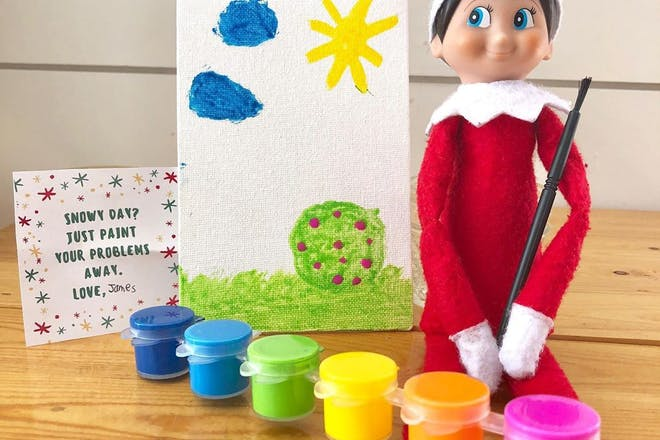 81. Painting Elf