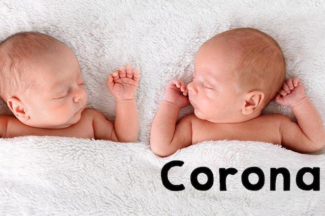Corona baby name