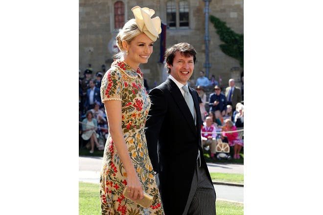 Sofia Wellesley and James Blunt