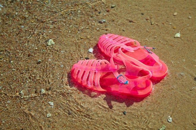 20. And spending all summer in these jelly sandals