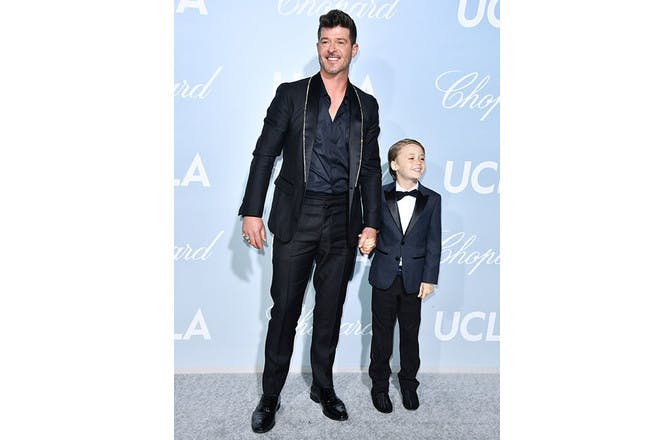 12. Robin Thicke and April Love Geary