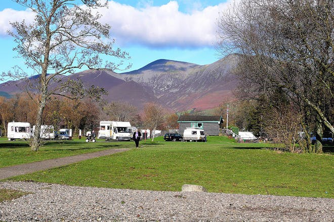 Camping by Skiddaw