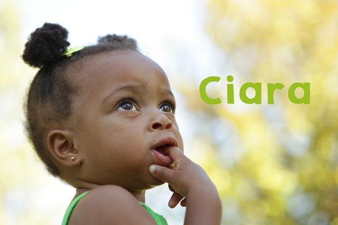 Ciara baby name