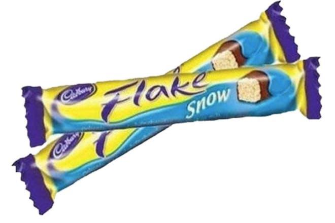 Cadbury Snowflake