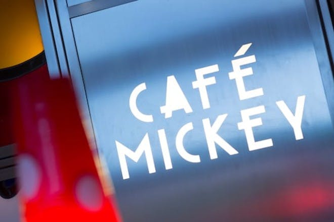 1. Pre-book a table at Cafe Mickey