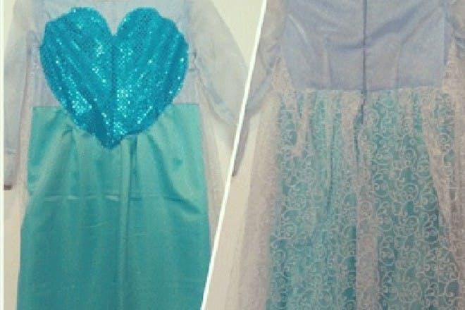 Create your own Elsa dress