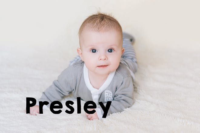 Presley baby name
