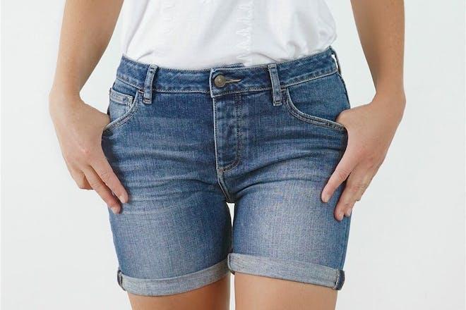 Fat Face denim shorts