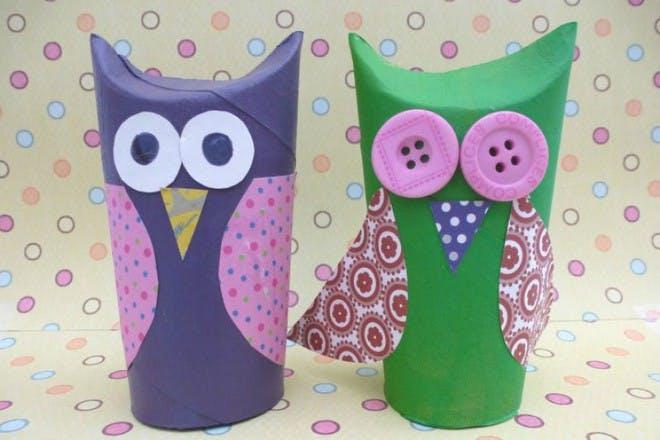 little toilet roll owls