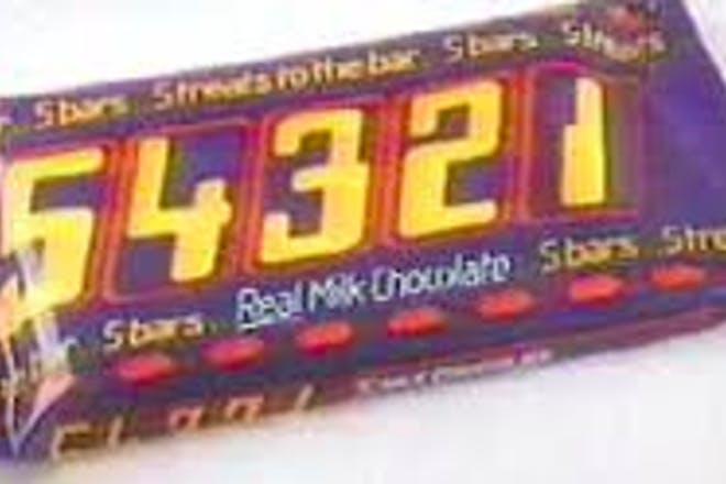 1. 54321