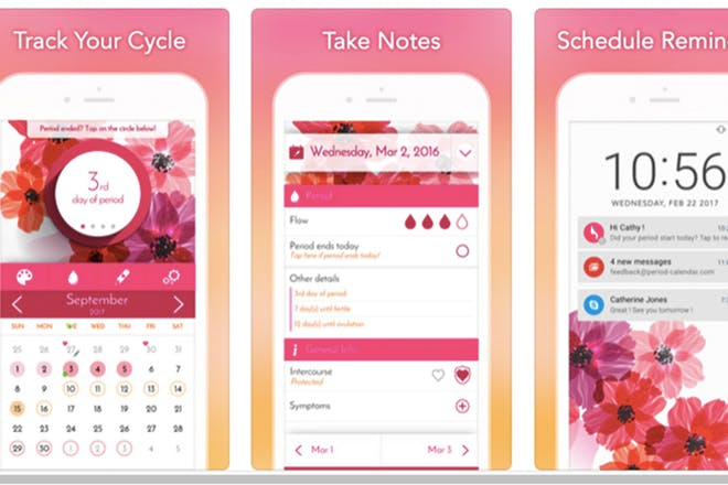 16. My Calendar – Period Tracker