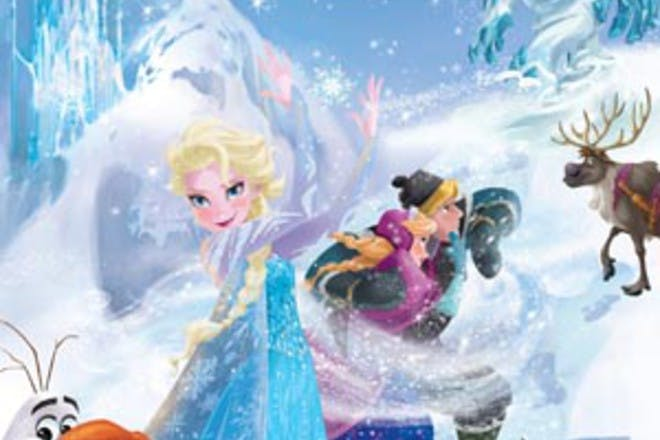 frozen magical story