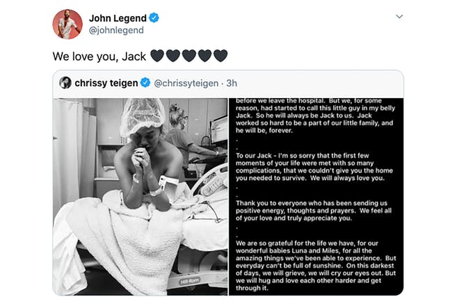 John Legend tweet